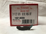 Simonds Blue Tip Saw Teeth (2-1/2 8-9 9/32 Regular)
